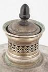 Самовар-ваза на ступенчатом поддоне