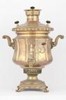 Самовар-ваза гранная с накладным медальоном