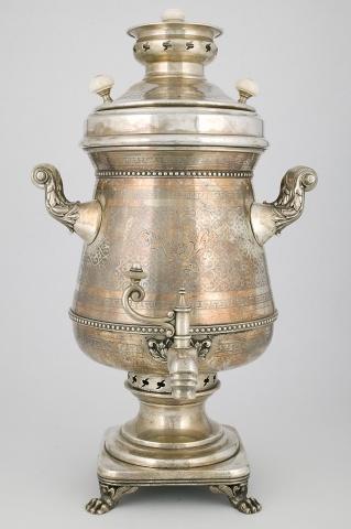 Самовар-ваза коническая