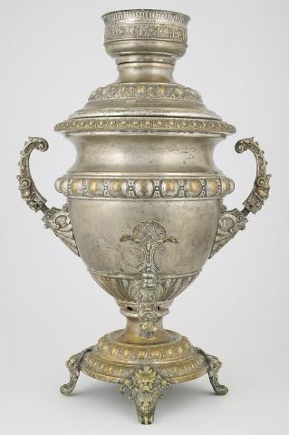 Самовар-ваза «С маскаронами»