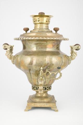 Самовар-ваза «С витыми овалами»