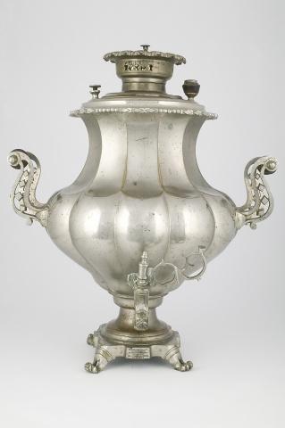 Самовар-ваза «Овально-ложчатая»