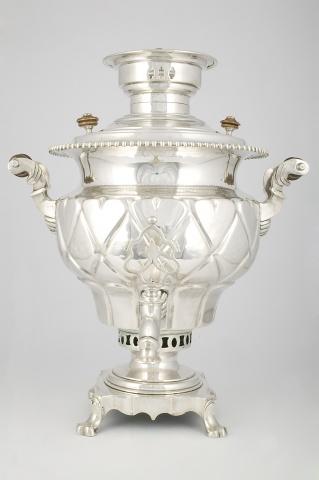 Самовар-ваза «С ромбами»