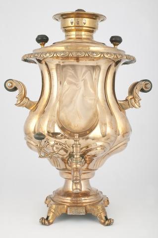 Самовар-ваза «Зеркальная»