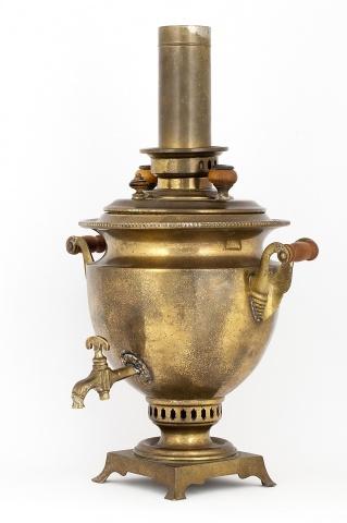 Самовар-ваза с трубой