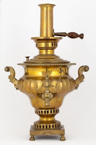 Самовар – ваза «Арбуз»