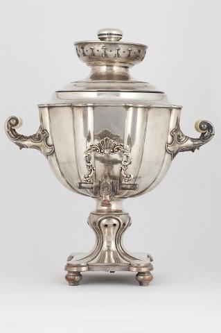 Самовар – ваза «Цветок»