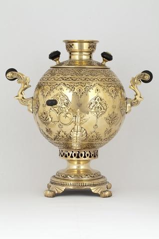 Самовар – шар  «С чеканным узором»