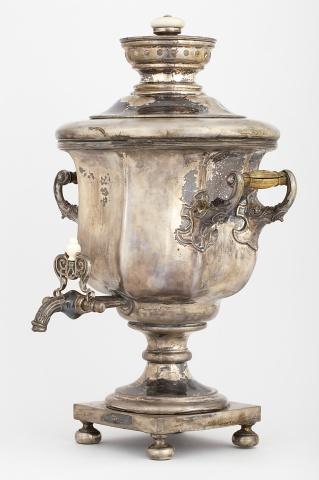 Самовар-ваза «Кубок гранный»