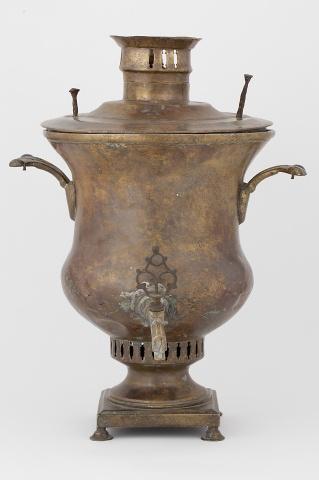 Самовар-ваза гладкая
