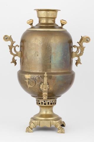 Самовар- ваза «Желудь» с гравировкой