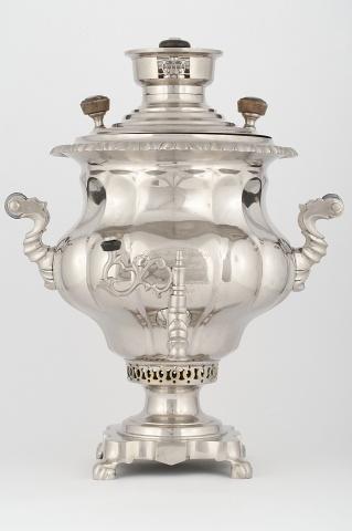 Самовар-ваза «Овально-ложчатая» с дарственной надписью