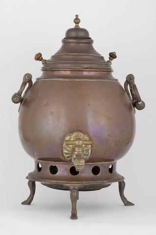 Самовар-ваза коническая на плоском поддоне