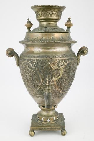 Самовар-ваза сувенирный