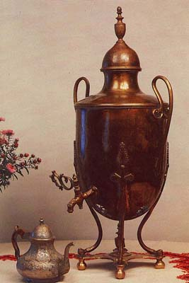 Egg-shaped samovar. Early 19th cent.