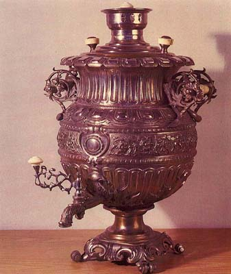 "Vase-shaped samovar ""Renascence"". Late 19th-early 20th cent."