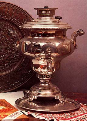 Vase-shaped samovar. Late 19th-early 20th cent.
