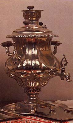 Smooth vase-shaped samovar. Late 19th - early 20th cent.